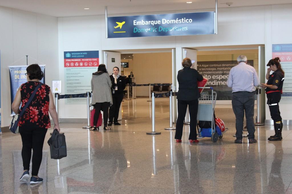 Embarque aeroporto viracopos