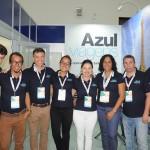 Equipe da Azul Viagens no Festival JPA 2018