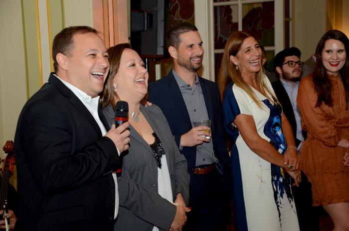 Equipe da Disney, Luiz Araujo, Cinthia Douglas, Angel Sarria, Deborah Baldin e Gabriela Delai