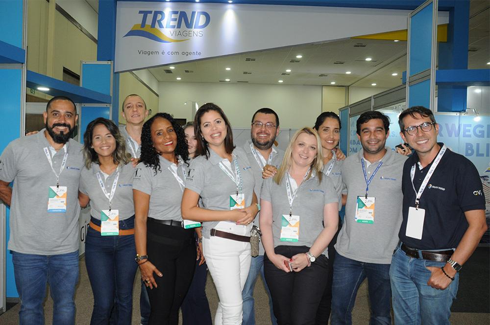 Equipe da Trend que participa do Festival JPA 2018