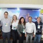 Equipe de parceiros que participaram do Festival JPA no estande de Santa Catarina