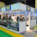 Estande do M&E movimentado na FIT 2018