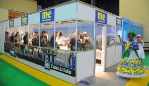 Veja fotos do coquetel da Bahia no estande do M&E durante a FIT 2018