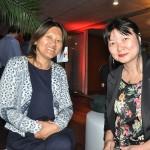 Ester Wei, da Asia Total, e Luciana Watanabe, da Interpoint