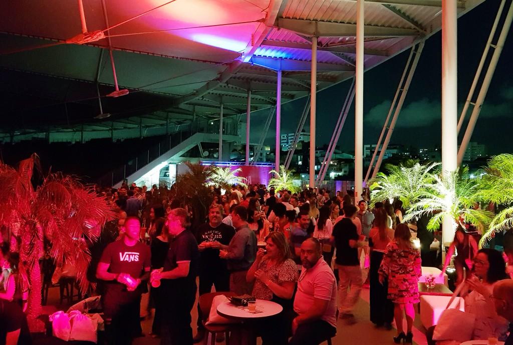 Evento recebeu mais de 300 pessoas na Itaipava Arena Fonte Nova