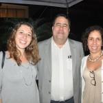 Fernanda Almeida, da 55 Destinos, Guilherme Campos, da Flot, e Tereza Kalil, da AJ Eventos e Incentivos