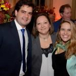 Fernando Nobre, da RCA, Cinthia Douglas e Louise Faleiros Garrido, da Disney
