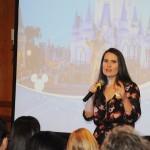 Gabriela Delai, da Disney, revelou as novidades para cerca de 260 agentes cariocas