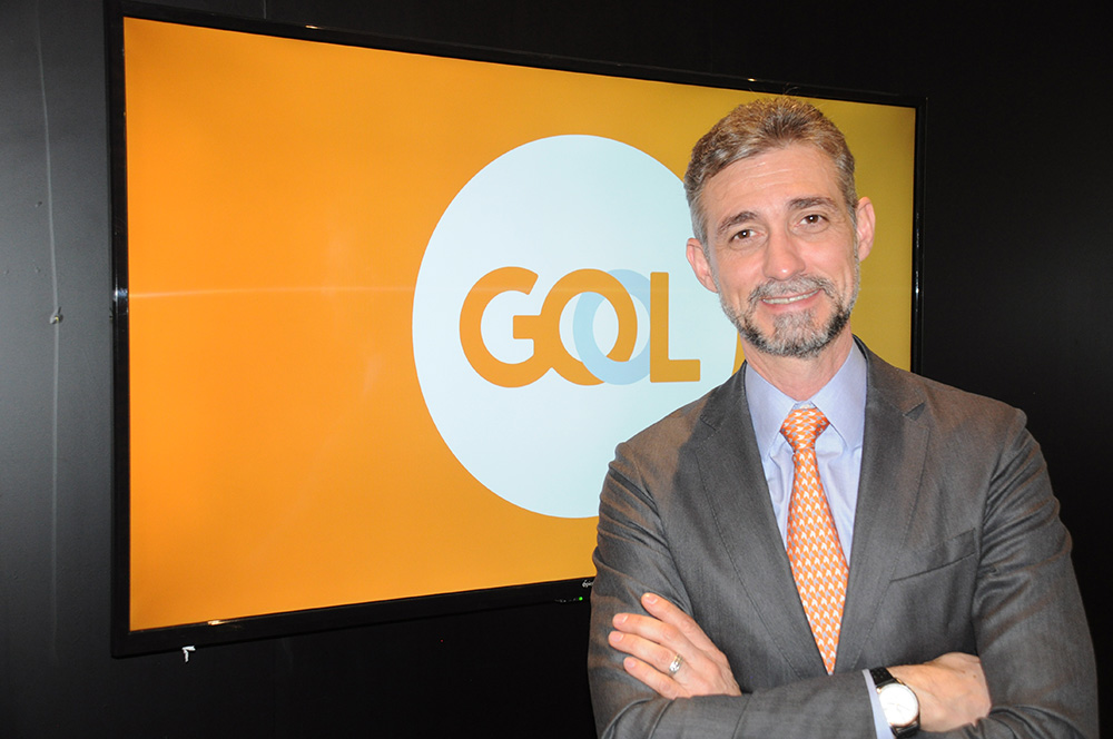 Giancarlo Alcalai, gerente executivo de Mercado Internacionais da Gol, participa da FIT 2018