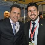 Gilmar Piolla, secretário de Turismo de Foz do Iguaçu, com Raphael de Lucca, da Ethiopian Airlines