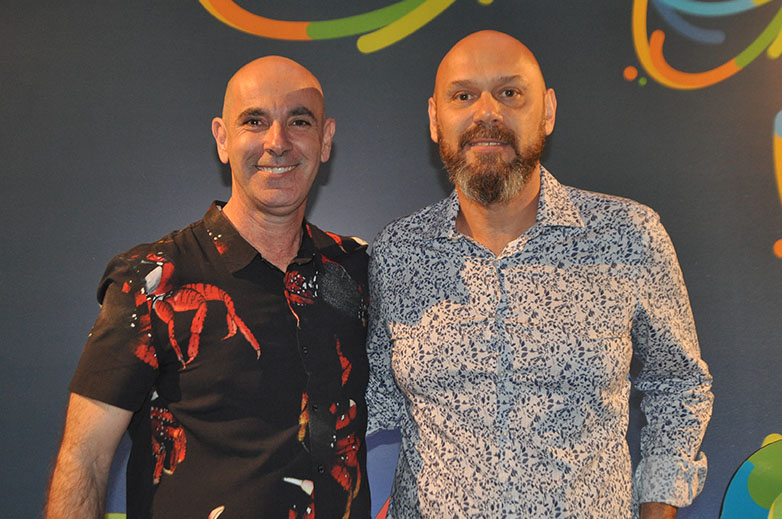 Heber Garrido, diretor de Marketing e Vendas, e Francisco Costa Neto, CEO da Aviva