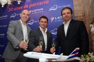 Latam e Rio Quente celebram 30 anos de parceria com mais de 1 milhão de passageiros
