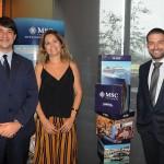 Ignacio Hidalgo, Jaqueline Messinl e Bruno Cordaro, da MSC