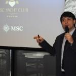 Ignacio Hidalgo, diretor Comercial e de Receitas da MSC no Brasil