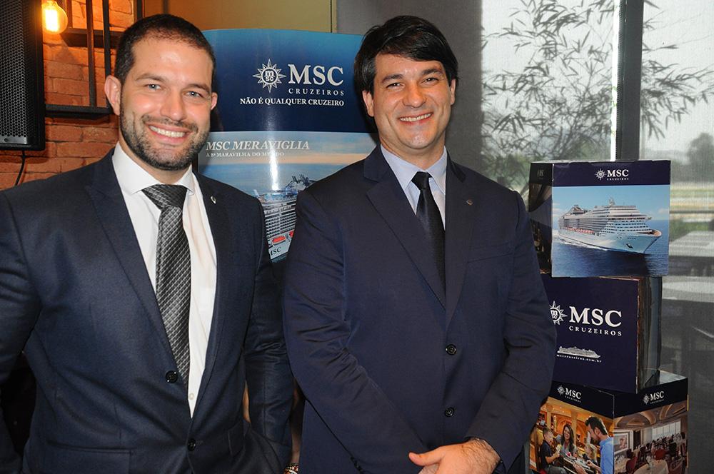 Bruno Cordaro e Ignacio Hidalgo, da MSC