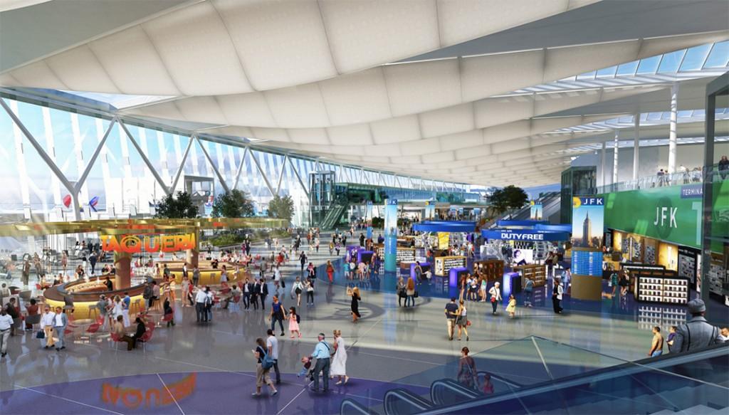 JFK-Airport-Receive-13-Billion-Renovation-design