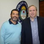 JOrge Souza, da Orinter, e Frederico Levy, da Interpoint