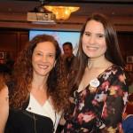 Jane Terra, do Visit Orlando, com Gabriela Delai, da Disney