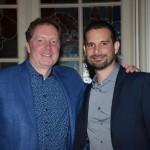 Jeff Van Langeveld, VP de Vendas e Marketing da Disney e Angel Sarria, diretor de Marketing e Vendas para América Latina