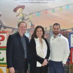 Jeff van Longerveld, Flavia Light e Angel Sarria, da Disney Destinations