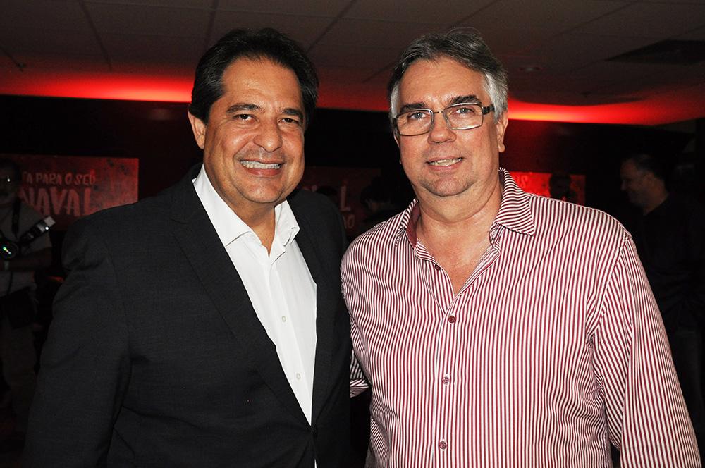 José Alves, secretário de Turismo da Bahia, e Roberto Duran, presidente do Salvador Destinations, prestigiaram o evento