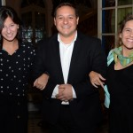 Julia Felix, Louise Faleiros Garrido e Luiz Araujo Jr, da Disney