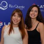 Juliana Martinha e Paula Schalch, da Latam