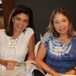Leila Autran, da Class Tur, e Sandra Barradas, da ACV Air