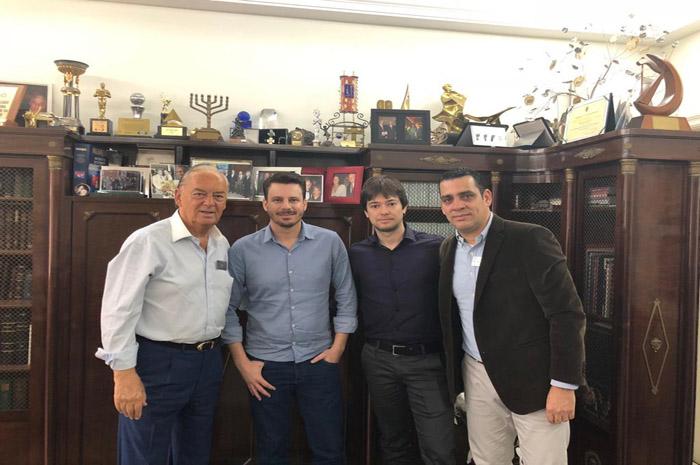 Marcos Arbaitman, Andre Wilson, Roberto Gil e Siderley Santos