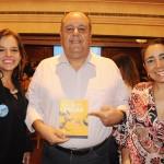 Lourdes Pontes, do Rio Bráo, com Julio Cesar e Andrea Guedes, da AIT