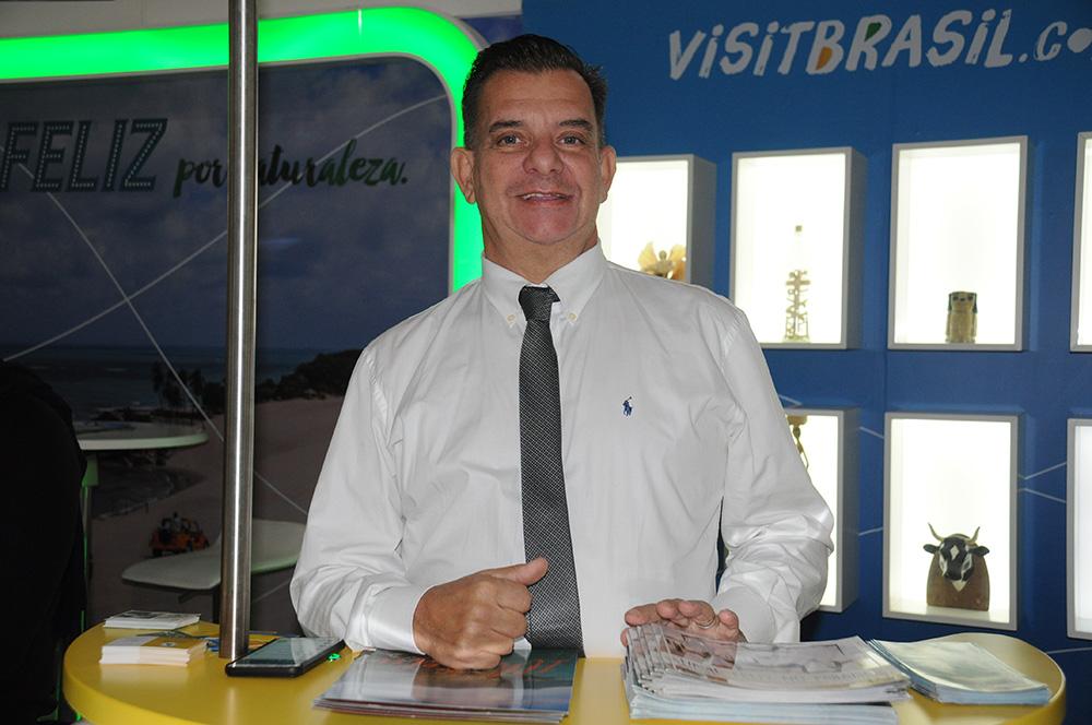 Luis Maio, diretor de Promoção do Turismo de Ilhabela
