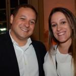 Luiz Araujo Jr, da Disney, e Juliana Tamelini, Indo Para Orlando