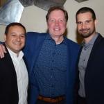 Luiz Araujo Jr., Jeff Van Langeveld e Angel Sarria, da Disney
