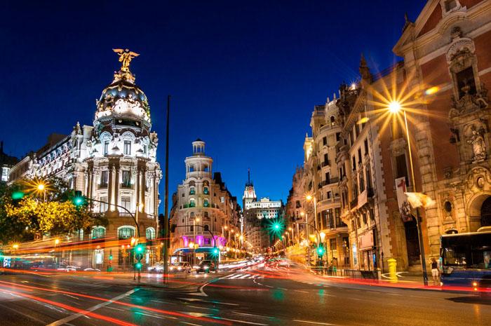 Madrid oferece diversas opções aos seus visitantes