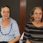 Maie Marie Fontaine, da Hallmark Turismo, e Marta Krautz, da Mar-Tha Rio