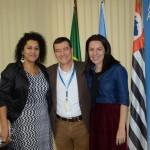 María Carla Ferreira, da Provincia de Santa Cruz,  Ivan Blanco e Sonaira Zanella, da Aerolíneas Argentinas