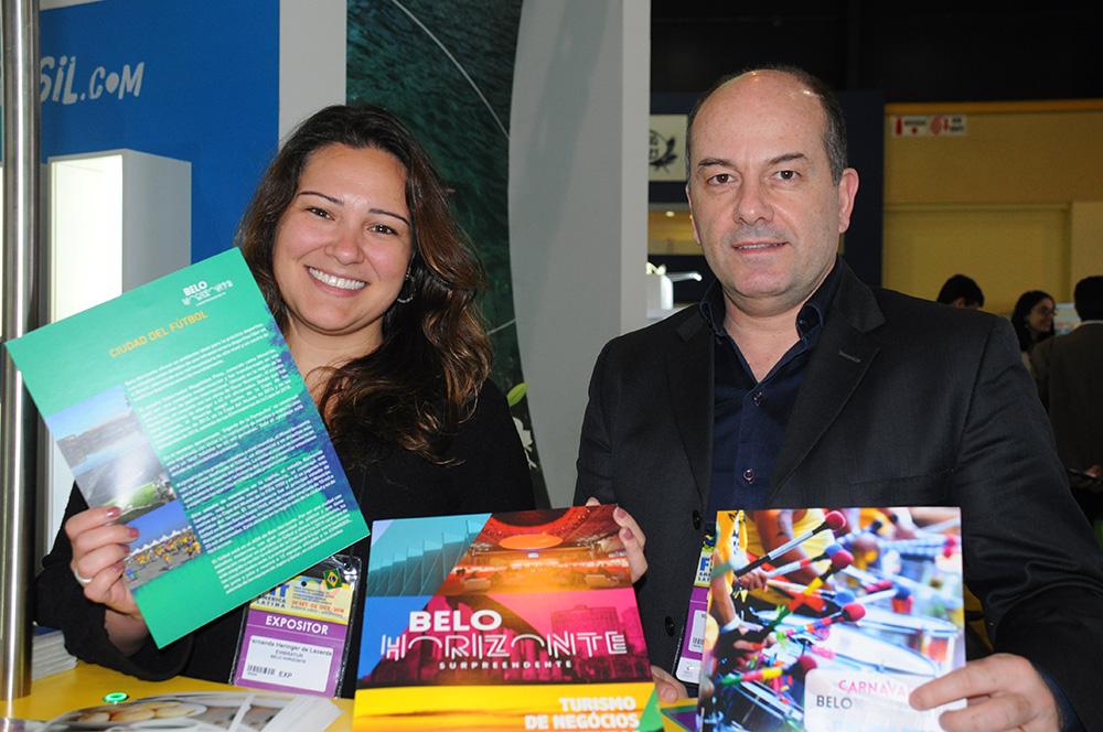 Marcos Barreto e Fernanda Heringer, de Belo Horizonte
