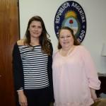 Merli Féria, da Queensberry, e Ana Simões, da TGK Travel