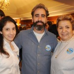 Nathalia Fiuza, Eric e Tania Silveira, da Tia Tania Viaje com Alegria