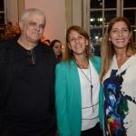 Nicanor Abreu e Silvia Fagundes, da Trade Tours, e Deborah Baldin, da Disney