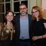 Paula Istilli e Camila Fernanda, da Latam Travel, e José Emerson Amaral, da Flytour MMT Viagens