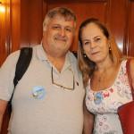 Paulo César Spitz e Denize Andrade, da Spitur Turismo