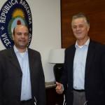Raul Monteiro, da Transmundi, e Carlos Alberto, da RXT Travel
