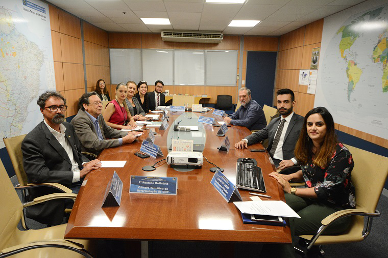 Reunião entre técnicos do Mtur e representantes do setor aconteceu na última terça (16), em Brasília. (Foto: Gustavo Messina)