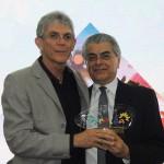 Ricardo Coutinho, governador da PB, homenageou o MTur representado pelo secretário executivo Alberto Alves