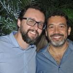 Roberto Sanches e Jorge Souza, da Orinter