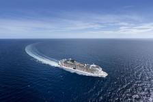 MSC Grandiosa garante certificação Biosafe Ship