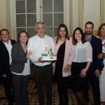 Sylvio Ferraz e equipe da CVC Corp também recebeu a homenagem da Disney