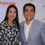 Tábita Marambaia e Gustavo Alves, do Wish Hotel da Bahia