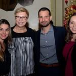 Thais Machado, Barbara Picolo e Maryane Giacometi, da Flytour MMT Viagens, com Angel Sarria, da Disney